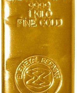 1-KILO-3215-TROY-OUNCES-ELEMETALS-9999-FINE-GOLD-BAR-0